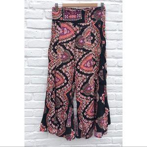 Pants - Boho wide leg flare pants